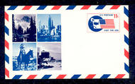 UXC5   11c SIPEX F-VF Mint Airmail Postal Card UXC5