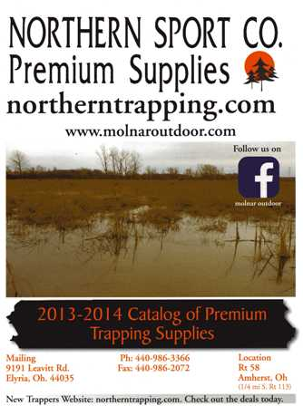 Northern Sport Co. Trapping Catalog 2013-2014 TRAPCAT