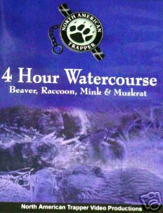 North American Trapper 4 Hour Watercoures DVD #32401