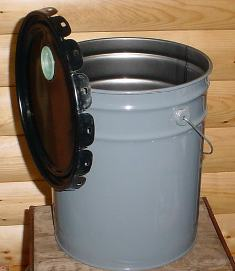 5 Gallon Metal Bucket w/Lid 5gmb001