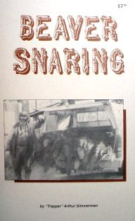 Beaver Snaring Book By Trapper Art #asbook