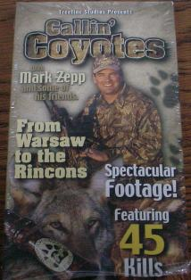 Callin Coyotes by Mark Zepp DVD #vd500
