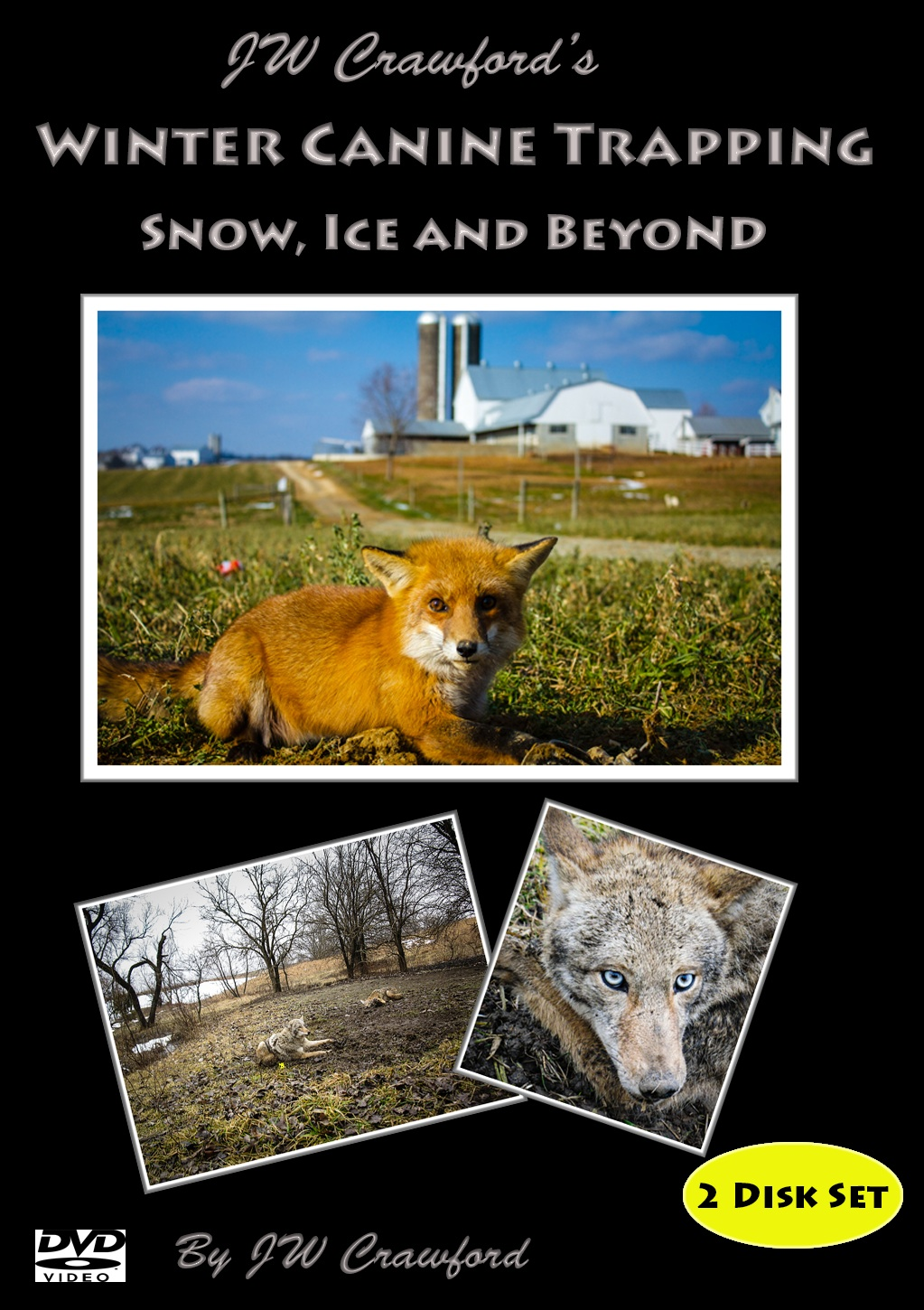 Winter Canine Trapping – Snow, Ice and Beyond - 2 Disc Set DVD #wcanine13m