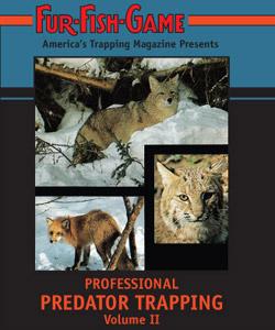 Fur Fish Game Professional Predator Trapping DVD #PPTII