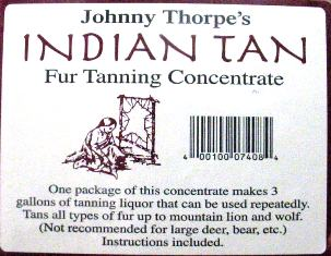 Johnny Thorpe's Indian Tan #idiantan