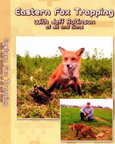 Eastern Fox Trapping with Jeff Robinson DVD #jrdvd