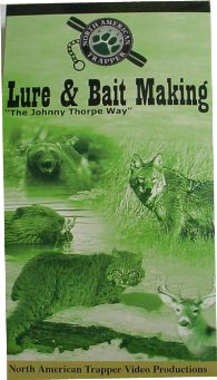 Lure & Bait Making by Johnny Thorpe  Way DVD Lure Making by JW
