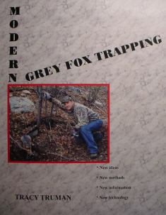 Modern Grey Fox Trapping Book by Tracy Truman #ttbook