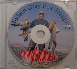 Modern Gray Fox Trapping DVD by Wyldwings Productions LLC #ModernGaryDVD