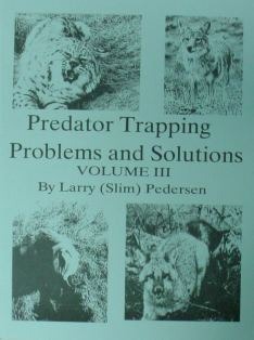 PREDATOR TRAPPING PROBLEMS & SOLUTIONS VOL. III by Pedersen #pedersenbk03