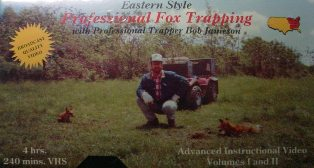 Eastern Style Professional Fox Trapping DVD by Bob Jameson #jamesonvideo