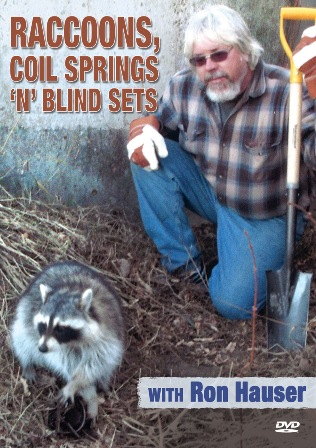 Raccoons, Coil Springs 'N' Blind Sets with Ron Hauser #8112rh