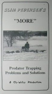 -MORE- Predator Trapping Problem and Solutions DVD by Slim Pederden #slimvideo3