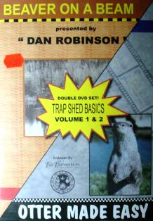 Trap Shed Basics Vol 1 and Vol 2 DVD by Dan Robinson #vid302
