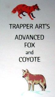 Trapper Art's Advance Fox and Coyote DVD #tav03