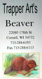Trapper Art's Beaver DVD #tav02