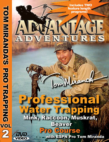 Tom Miranda Professional Water Trapping DVD Pro Course #39734
