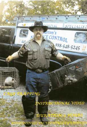 Cage Trapping Instructional DVD with George Burton ctigb132