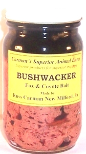 Carman's Bushwacker Fox & Coyote Bait  bushw12