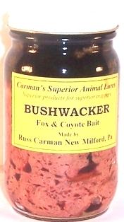 Carman's Bushwacker Fox & Coyote Bait  bushw12