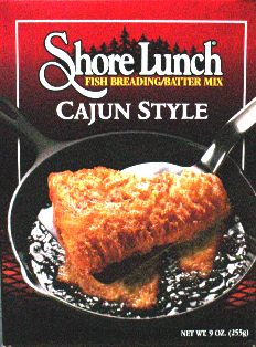 Shore Lunch Breading/Batter Mix - Cajun Spice cajunshore