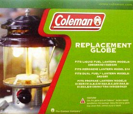 Coleman Replacement Globe R214D046C