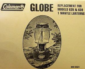 Coleman Replacement Globe 690-0581