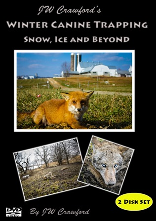 Winter Canine Trapping Snow, Ice and Beyond - 2 Disc Set DVD #wcanine13new