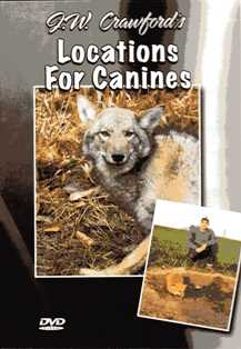 J.W. Crawford's Locations For Canines DVD  #JWCcanines
