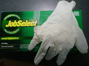 Disposable Skinning Gloves #315