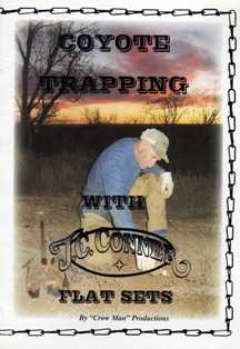 Coyote Trapping Flat Set DVD by J.C. Conner #convideo02