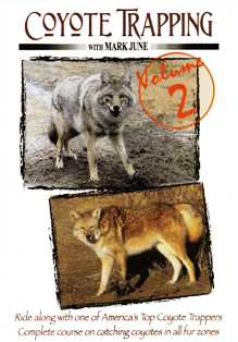 Coyote Trapping Volume 2 DVD by Mark June #cottradvd2