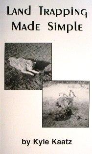 Land Trapping made Simple Book by Kyle Kaatz #KylyKaatzlandbk