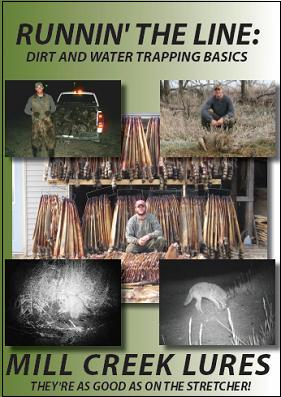 "Brian Steines' ""Runnin' The Line: Dirt and Water Trapping Basics"" DVD #SW47559"