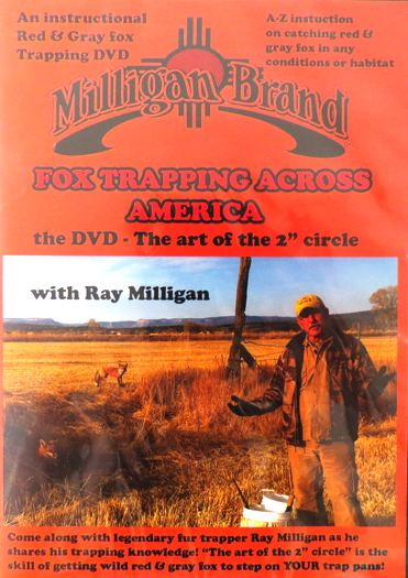 Fox Trapping Across America - DVD - by Ray Milligan #003566815
