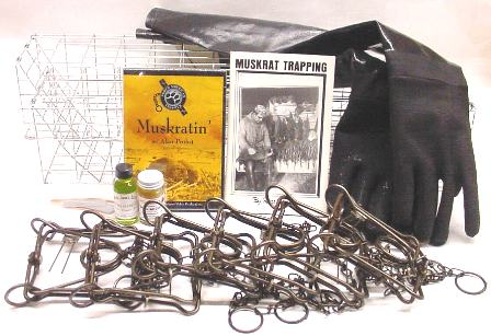 Muskrat Deluxe Trapping Kit muskratkit12