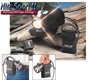 Nite Lite Nite Sport LED Rechargeable Light Package 1091