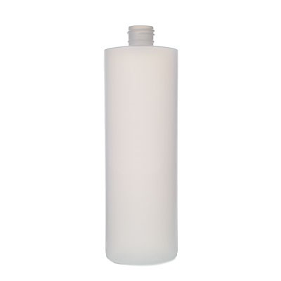 Plastic Cylinder Bottle - Natural 13840017