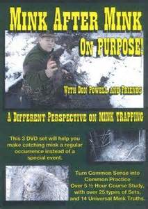 """Don Powell's """"Mink After Mink On Purpose"""" 3 DVD Set #00652014"""