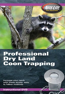 Professional Dry Land Coon Trapping Video #pofedrylanddvd