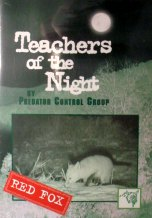 Teachers of the Night Red Fox DVD by Predator Control Group #dvdteachersredfox