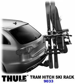 Thule TRAM 9033 Hitch Ski/Snowboard Carrier 9033tram