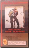 Fur Fish Game Professional Mink Trapping DVD PMT