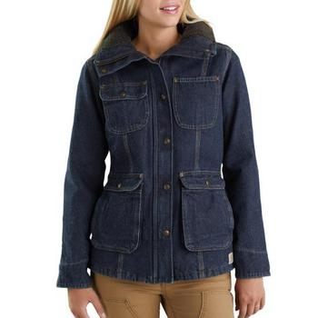 Carhartt Women's Weathered Duck Wesley Coat #102247-479