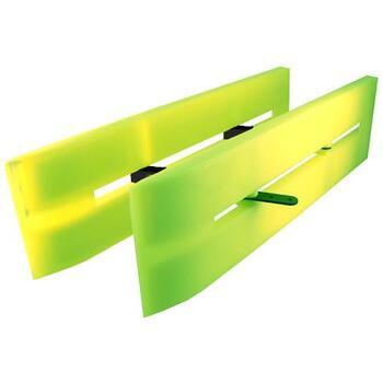 SEA DEMON Hi-Viz Collapsible Double Planer Board #509719