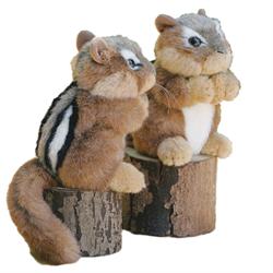 Stuffed Animal House Chipmunk  #ch01