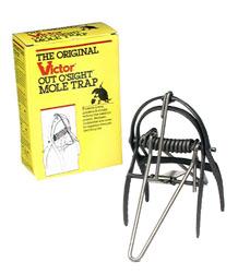 Victor® Out O'Sight Mole Trap #0631