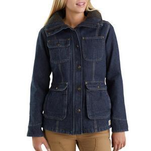 Carhartt Women's Weathered Duck Wesley Coat 102247-479