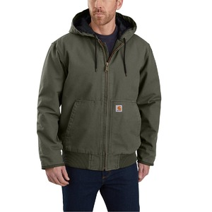 Carhartt Men's Washed Duck Insulated Active Jac 104050