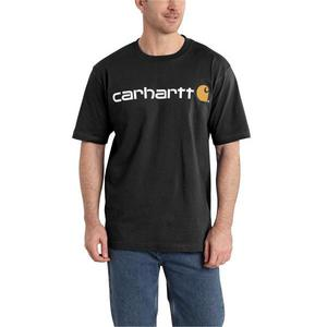 Carhartt Men's Signature Logo Short-Sleeve T-Shirt K195